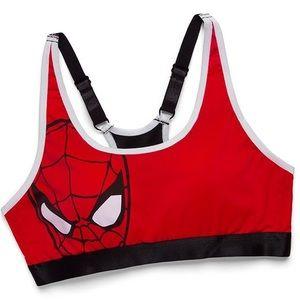 Marvel Spider-Man sports bra